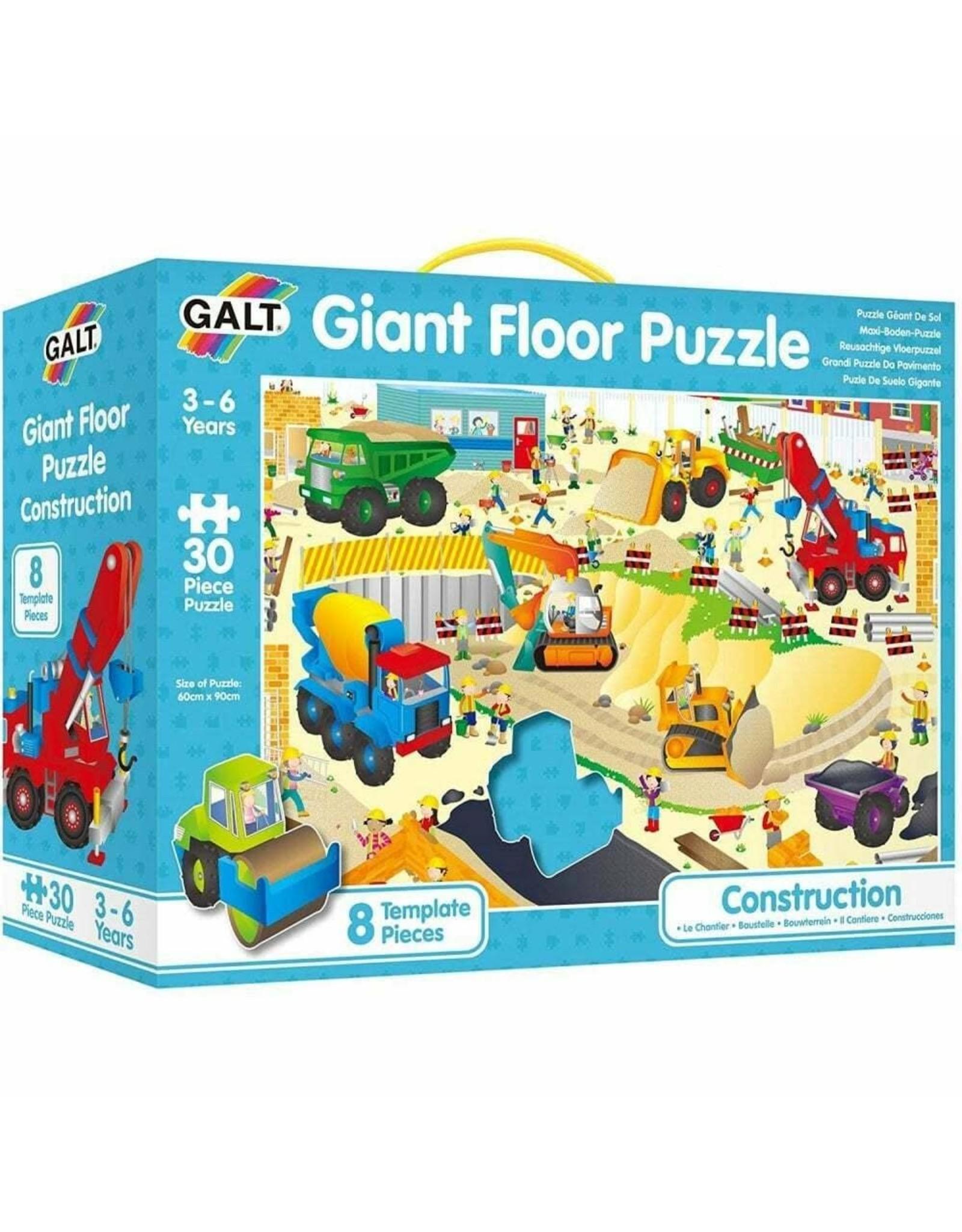 Galt Toys Giant Floor Puzzle-Construction Site