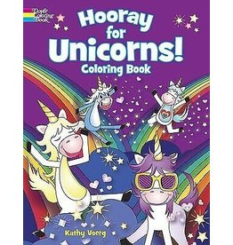 Dover Hooray! for Unicorns Coloring Book