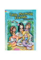 Dover Little Mermaid Friends Coloring Book