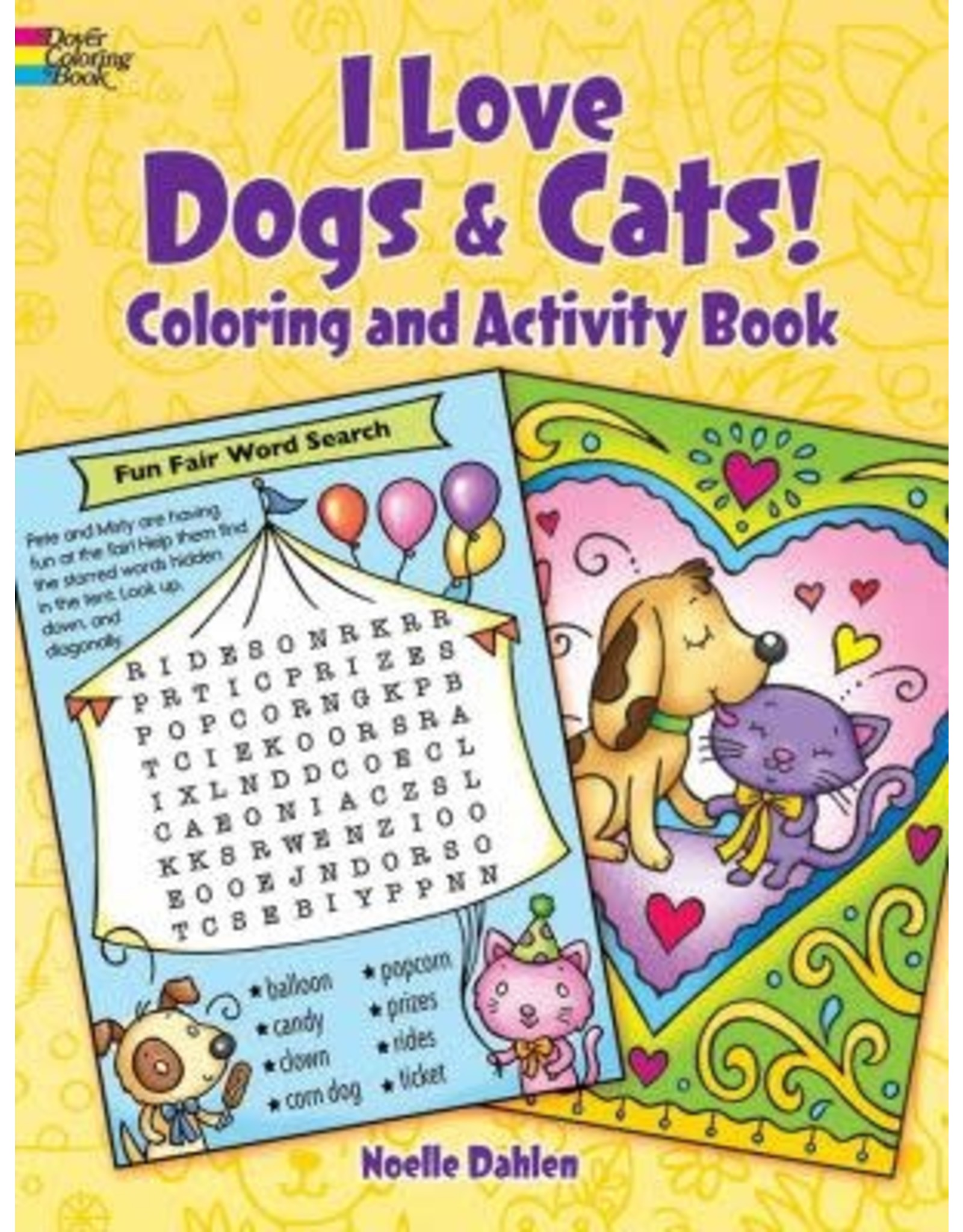 Dover I Love Dogs & Cats! Activity Book