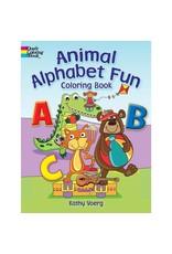 Dover Alphabet Fun Coloring Book