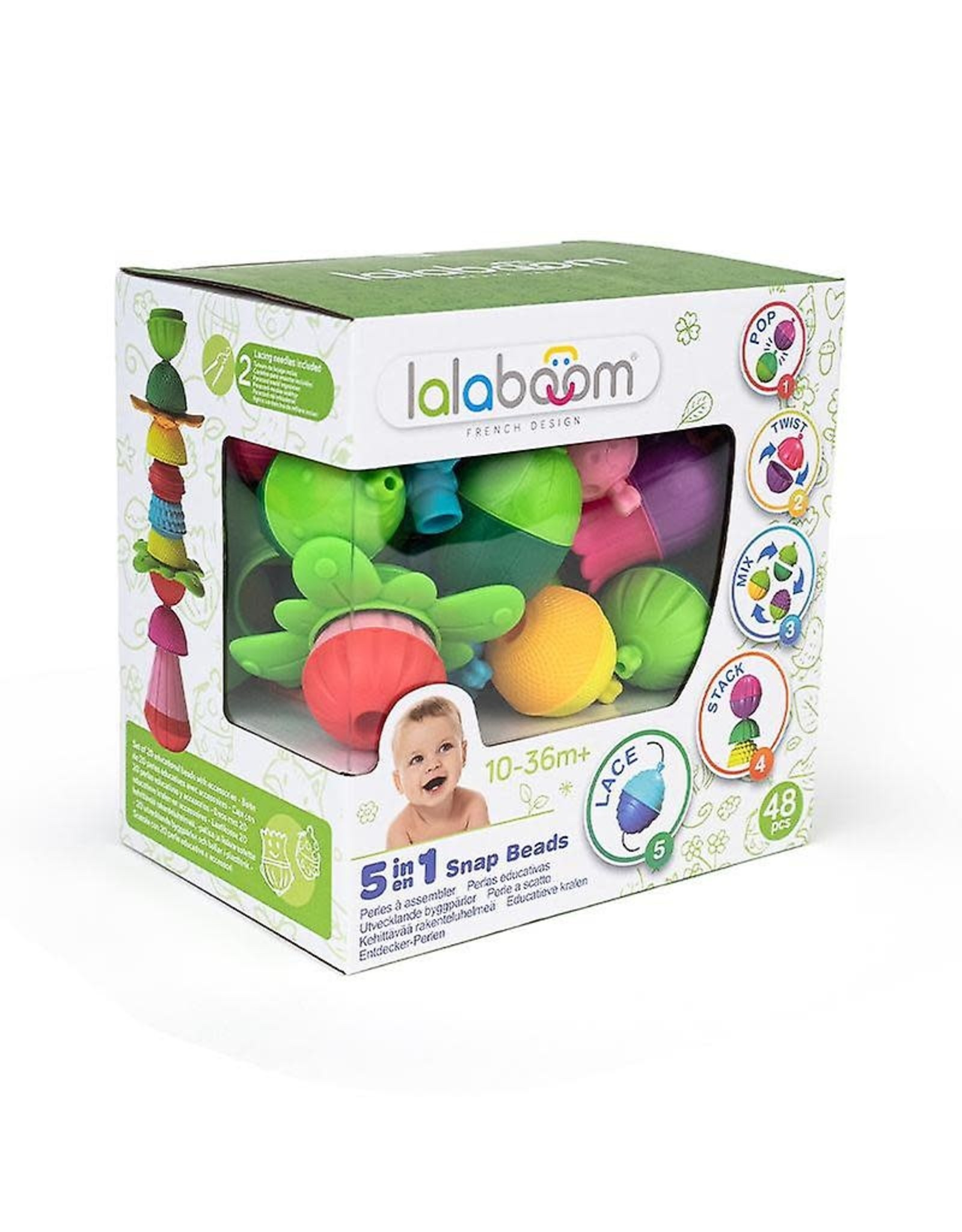 Lalaboom Beads & Accessories 48 pcs