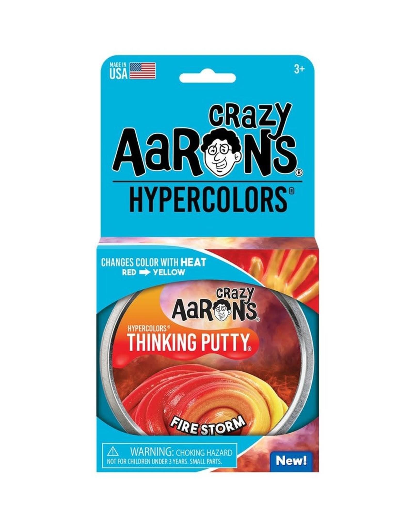 """Crazy Aaron Fire Storm  4"""" Tin"""