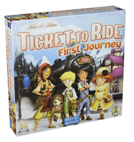 Asmodee Ticket to Ride: Europe: First Journey