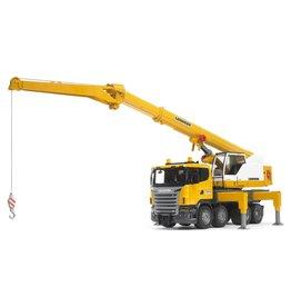 Bruder SCANIA R-Series Liebherr Crane w Light/Sound Module