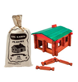 Channel Craft ROY TOY LOG CABIN POUCH