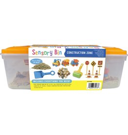 Creativity for Kids Sensory Bin Construction Zone