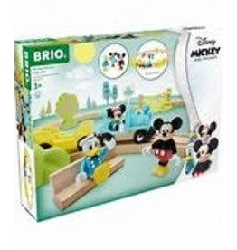 BRIO Mickey Mouse Train Set