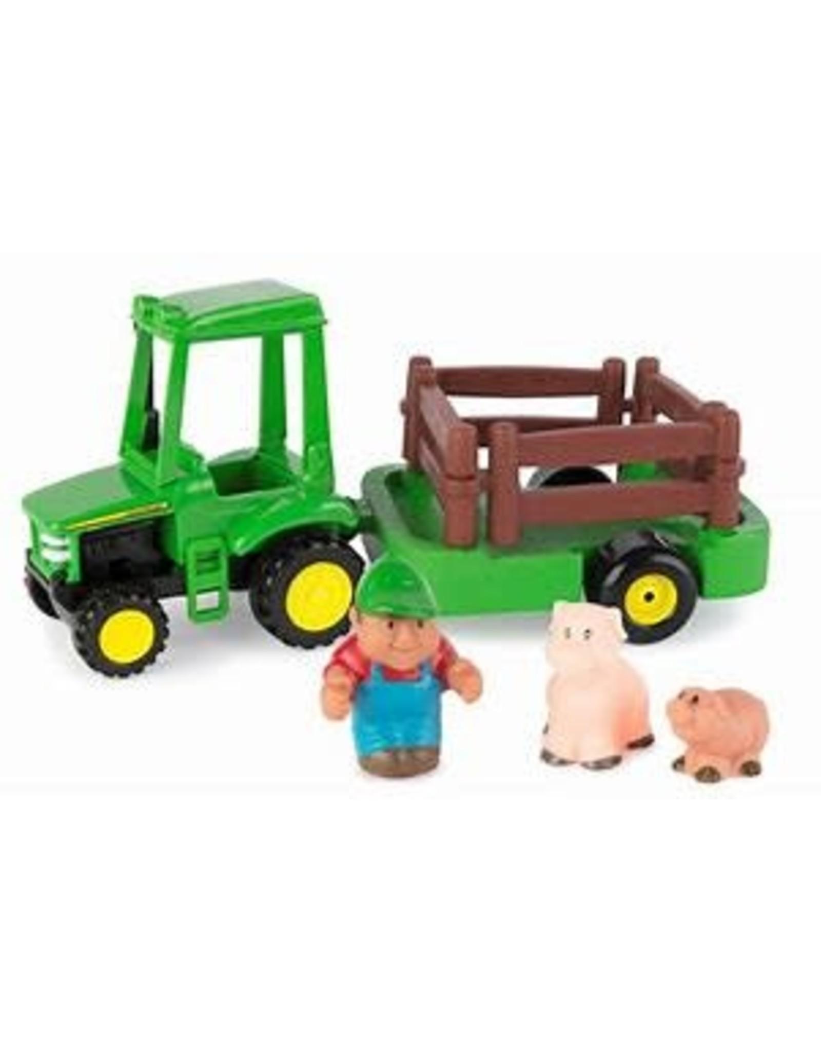 John Deere First Farming Fun Hauling Set