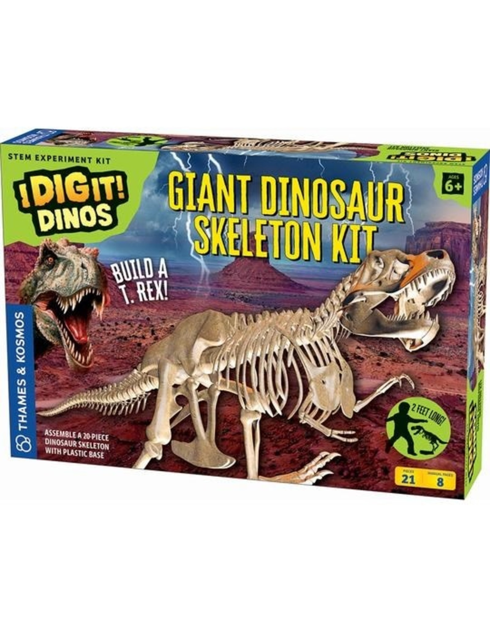 Thames and Kosmos Giant Dinosaur Skeleton Kit