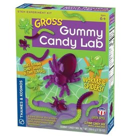 Thames and Kosmos Gross Gummy Candy Lab: Worms and Spiders