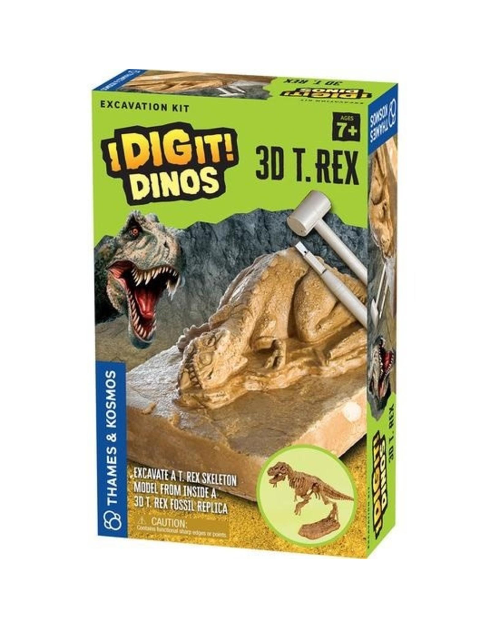 Thames and Kosmos I Dig It! Dinos - 3D T. Rex Excavation Kit