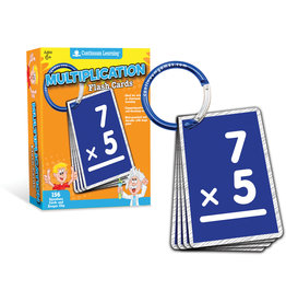 Continuum Multiplication Flash Cards