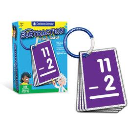 Continuum Subtraction Flash Cards
