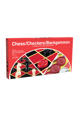 Goliath Checkers/Chess/Backgammon (Folding Board)