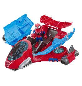 Marvel MSH Spider-Man Jetquarters