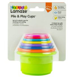 Lamaze Pile & Play Cups Gift Set