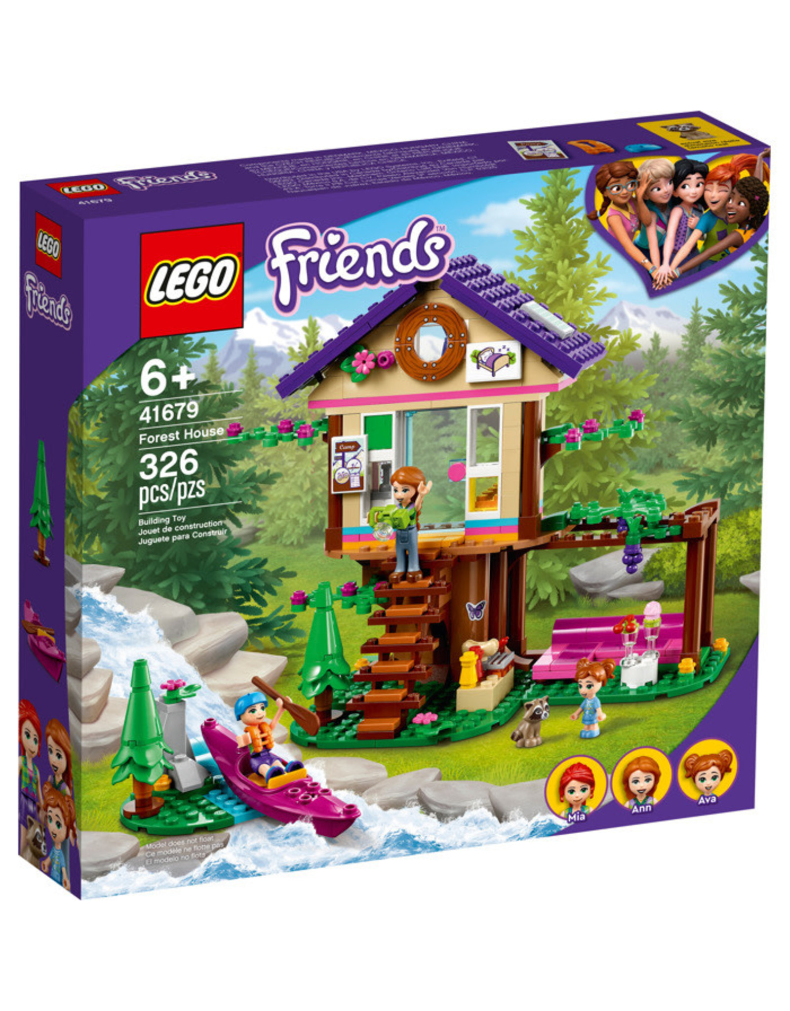 LEGO Forest House