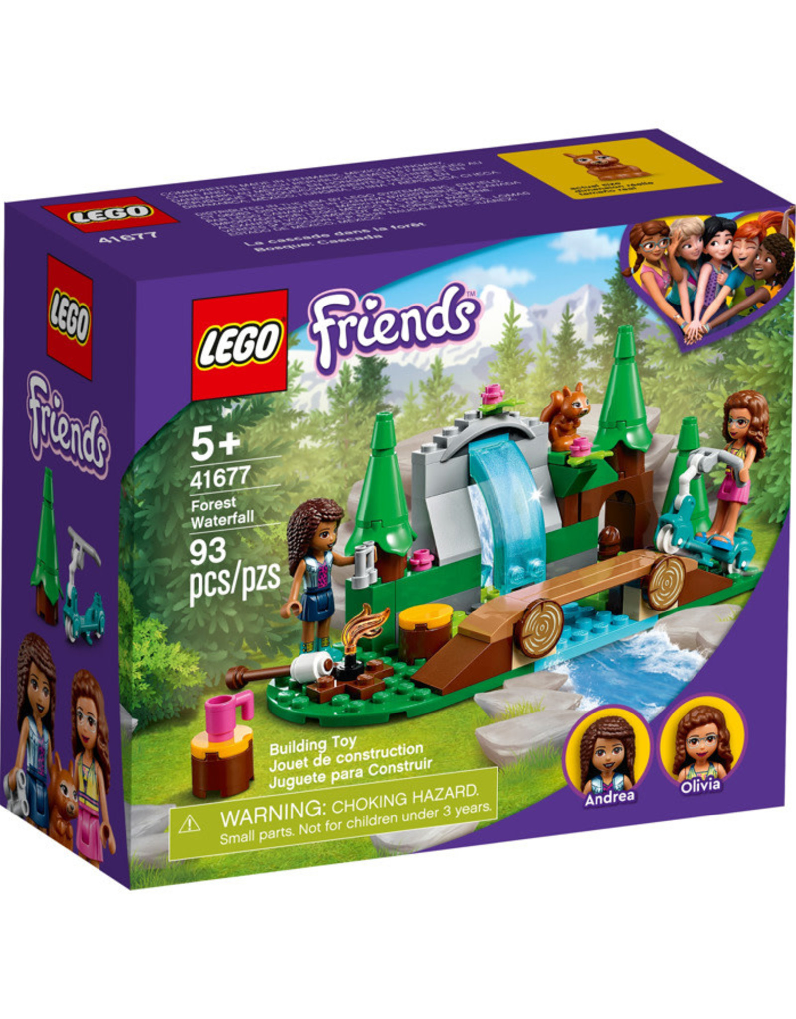 LEGO Forest Waterfall