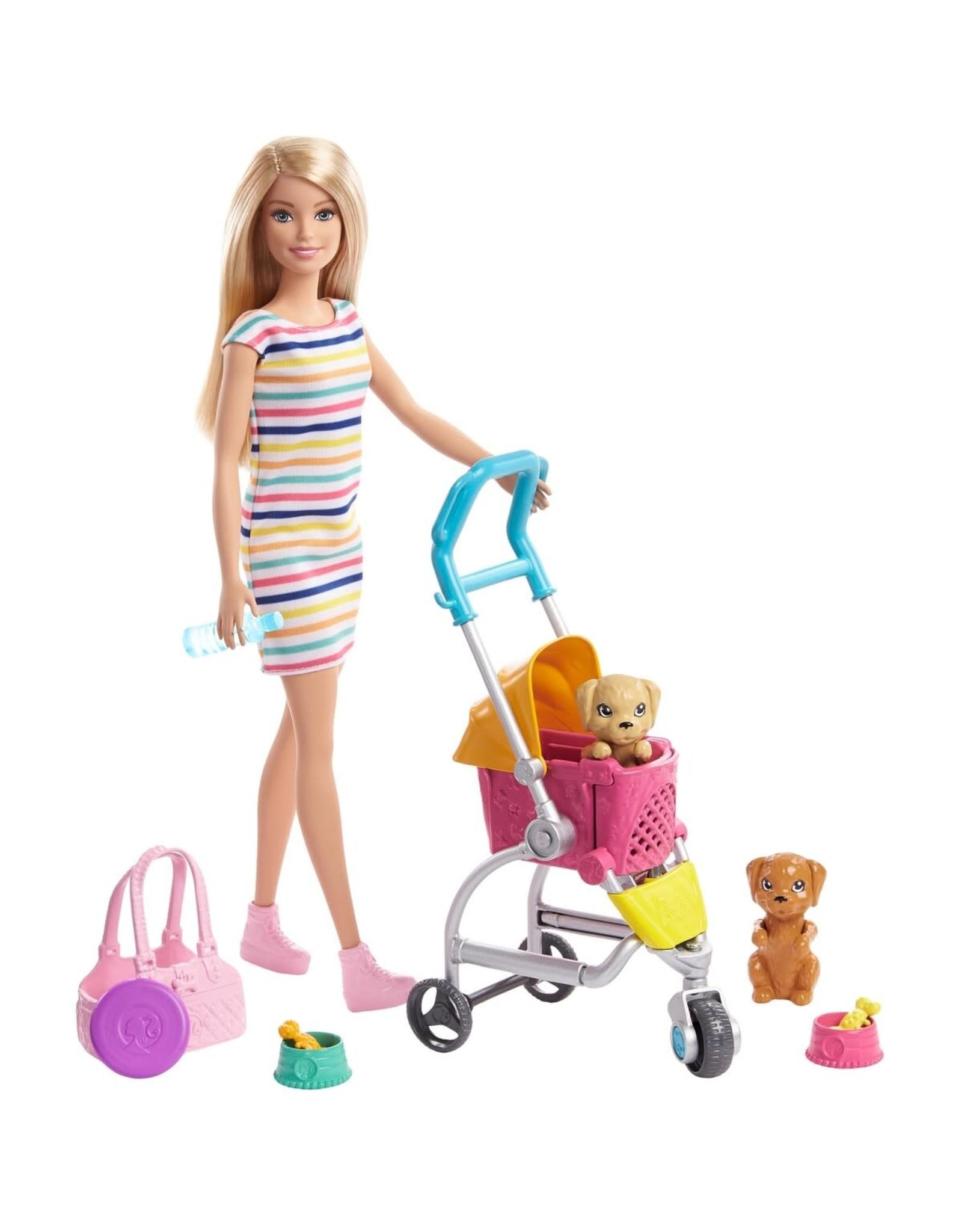 Barbie Barbie Stroll 'n Play Pups