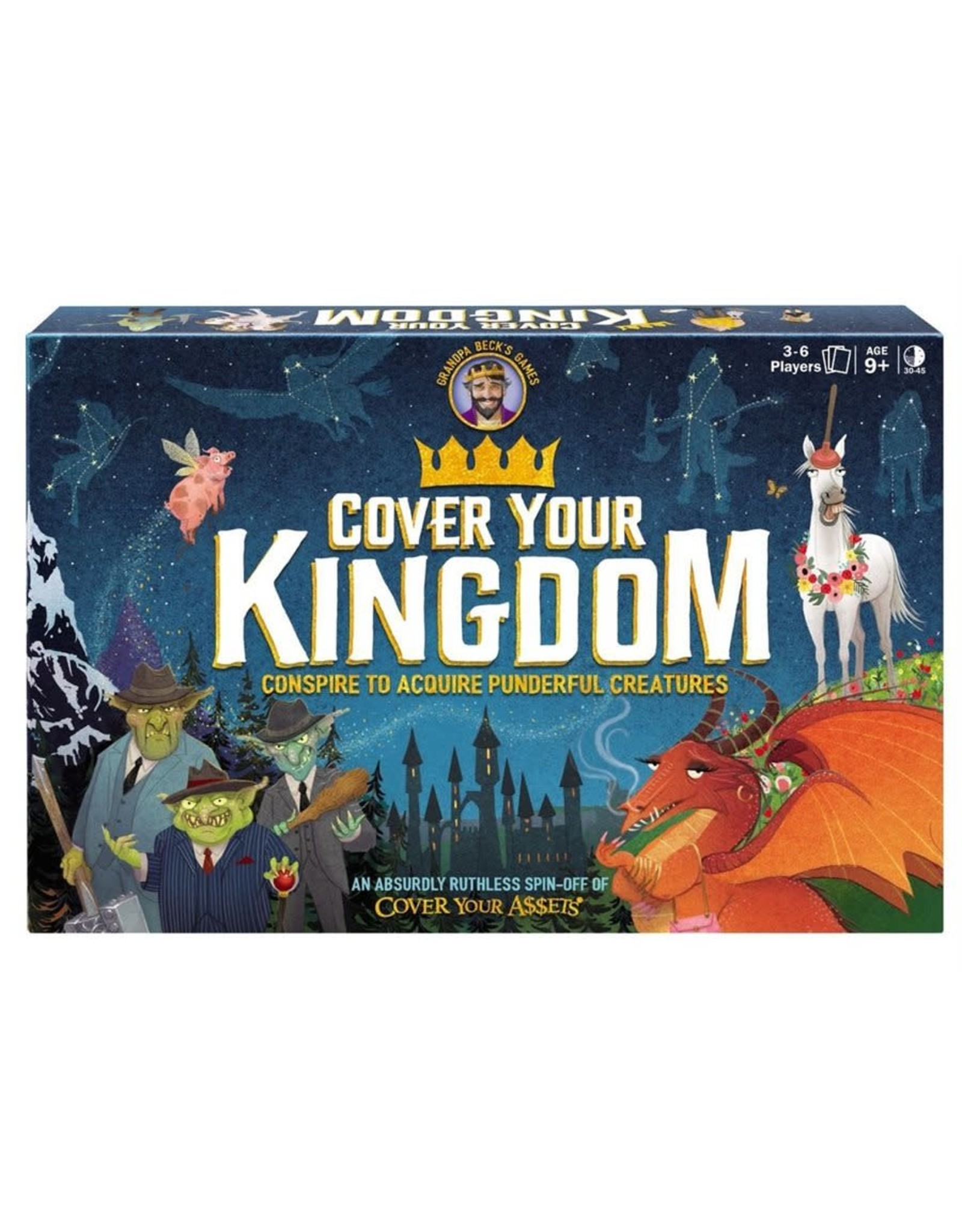 Grandpa Beck's Games Cover Your Kingdom