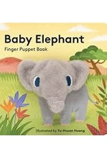 Continuum Baby Elephant finger puppet book