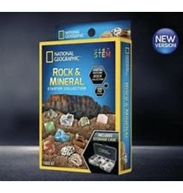 National Geographic Carded Rock and Mineral Starter