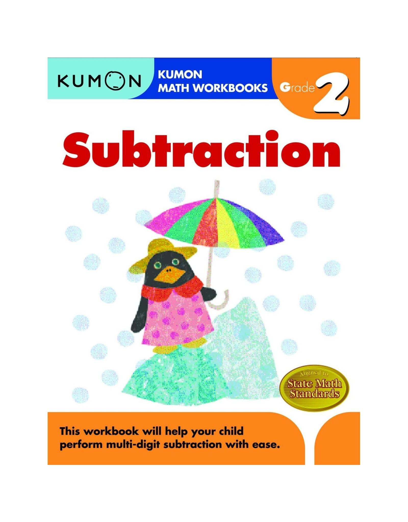 Kumon GRADE 2 SUBTRACTION