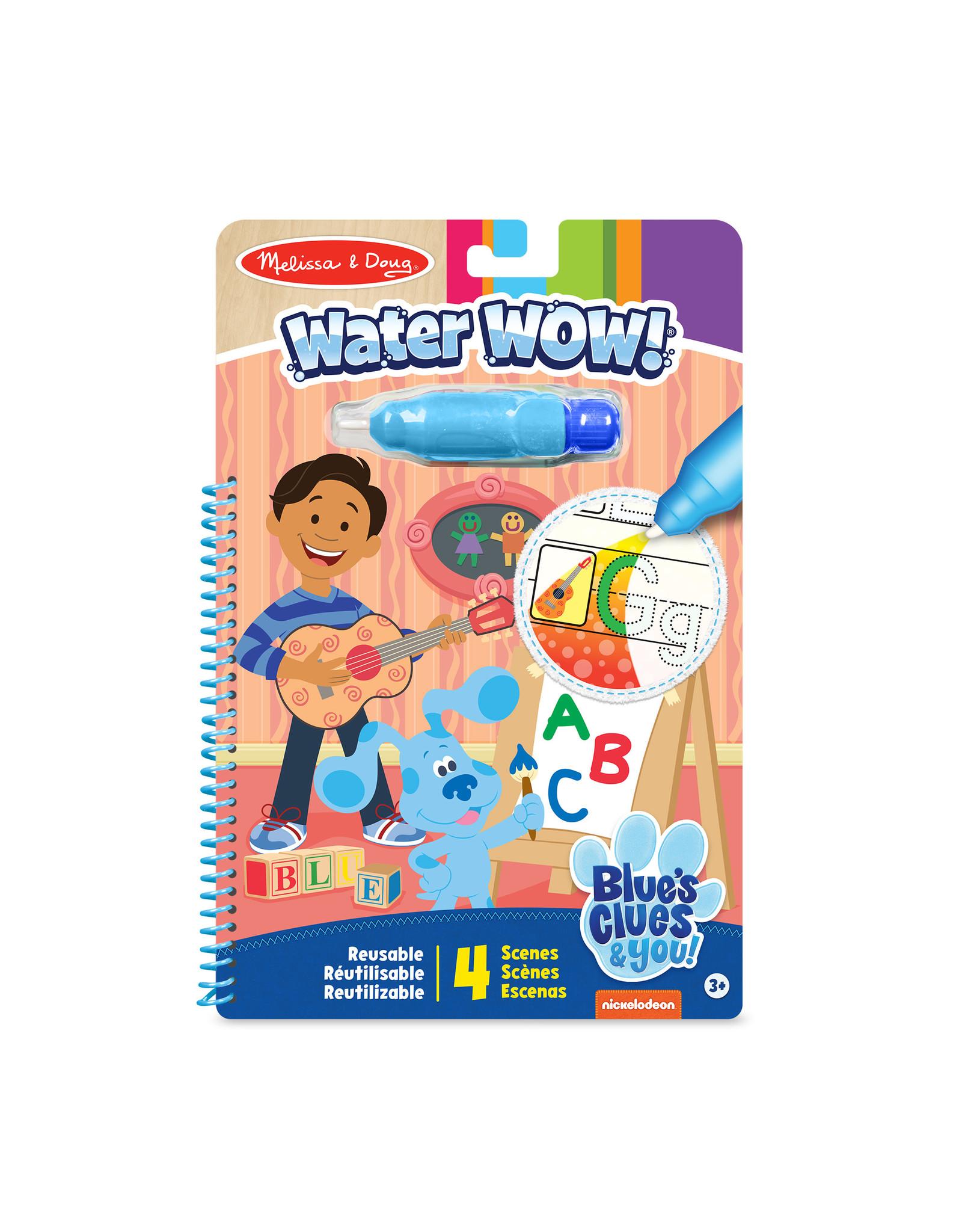 Melissa & Doug Blues Clues Water Wow Alphabet