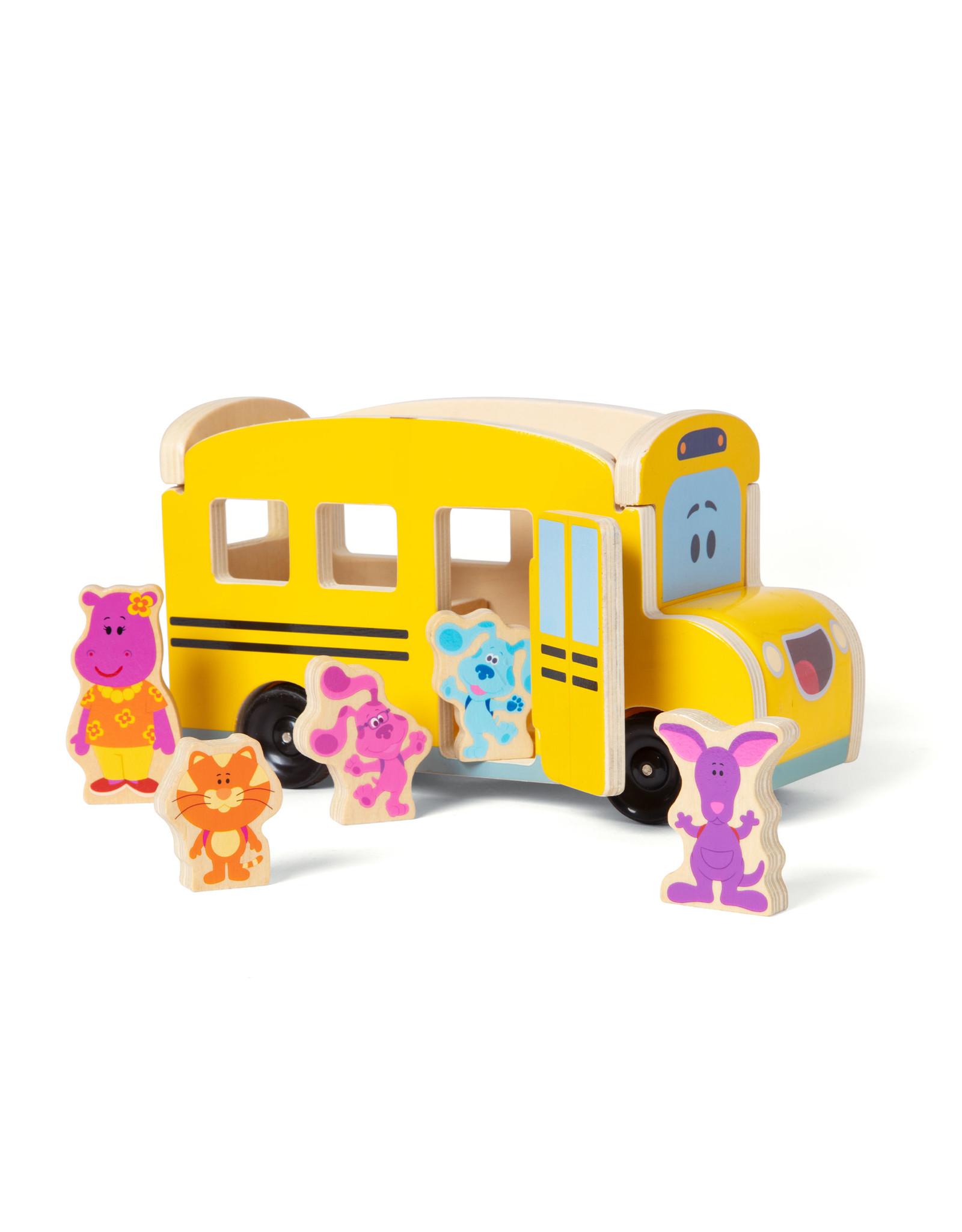 Melissa & Doug Blue Clues School Bus