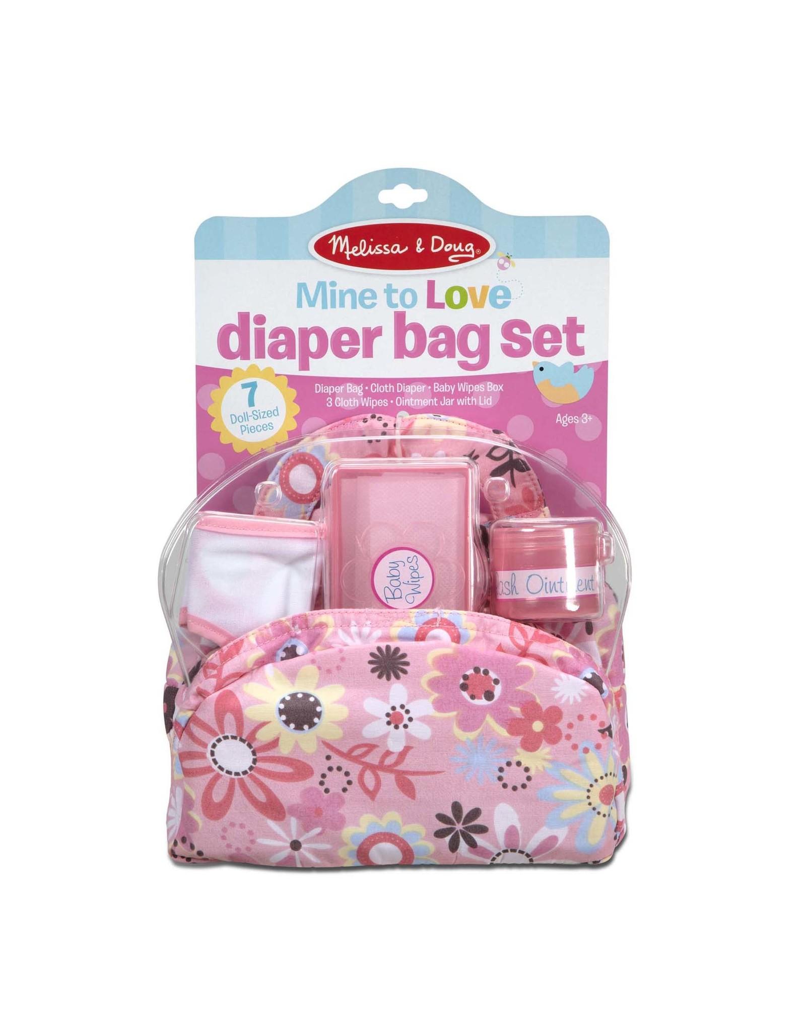 Melissa & Doug Diaper Bag Set