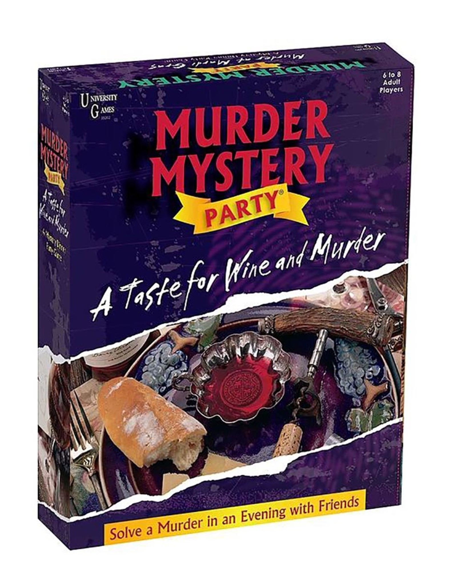 University Games A Taste for Wine and Murder