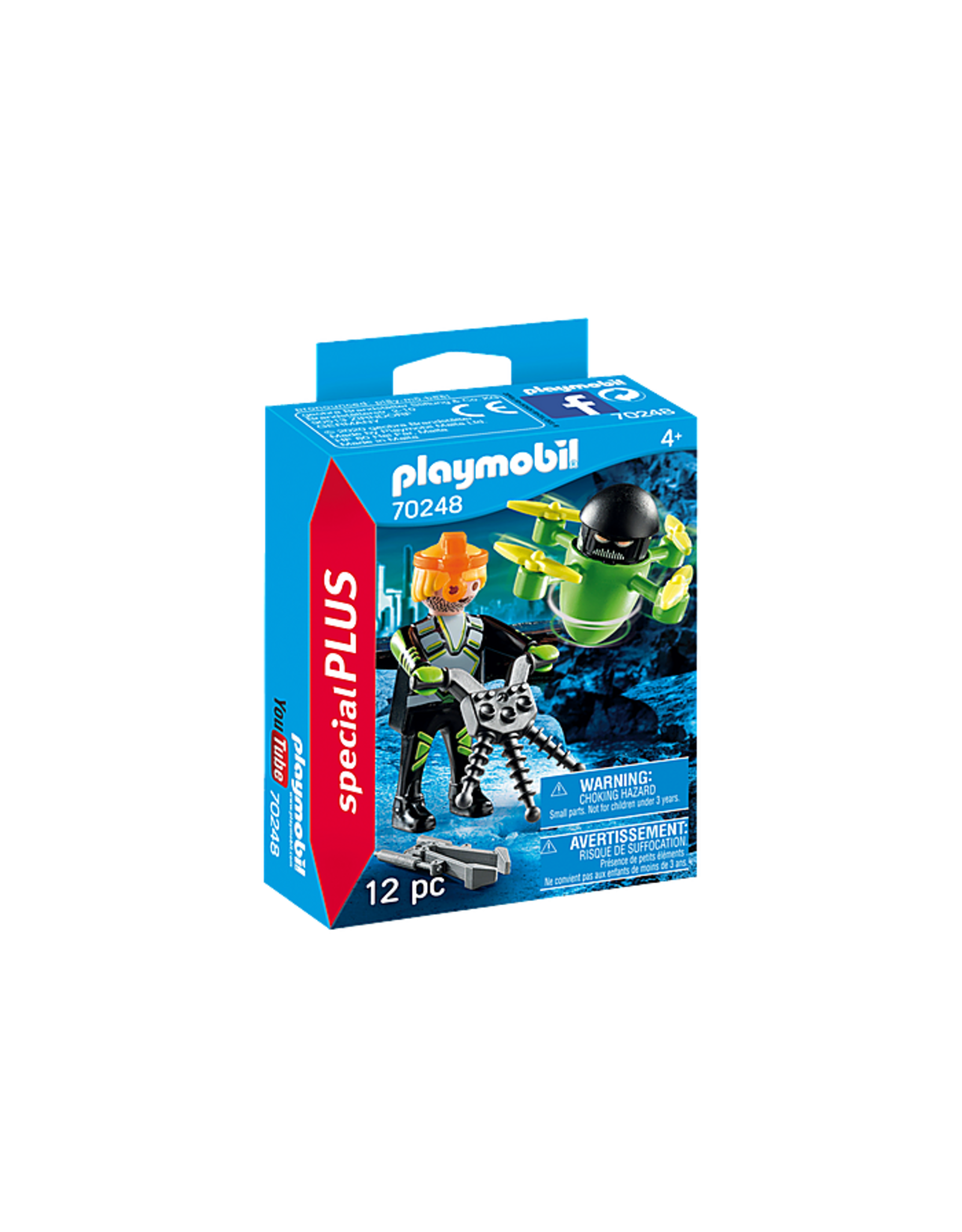 PLAYMOBIL Agent with Drone