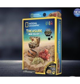National Geographic Carded Mini Treasure Dig Kit