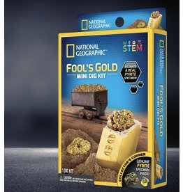 National Geographic Carded Mini Dig Fool's Gold