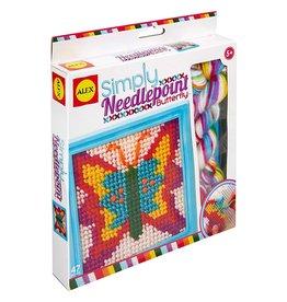 Alex Brands Simply Needlepoint- Butterfly