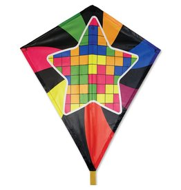 "Premier Kites 30"" Diamond Kite- Star Blocks"