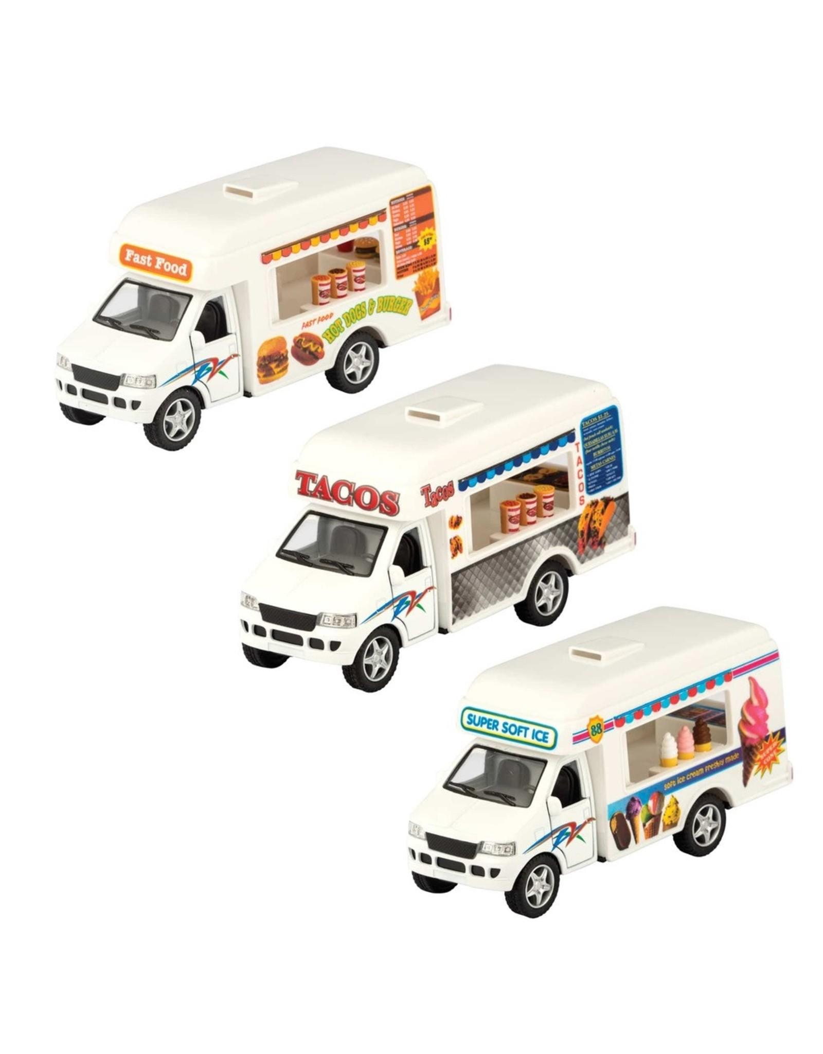 Schylling Die Cast Food Trucks Ast