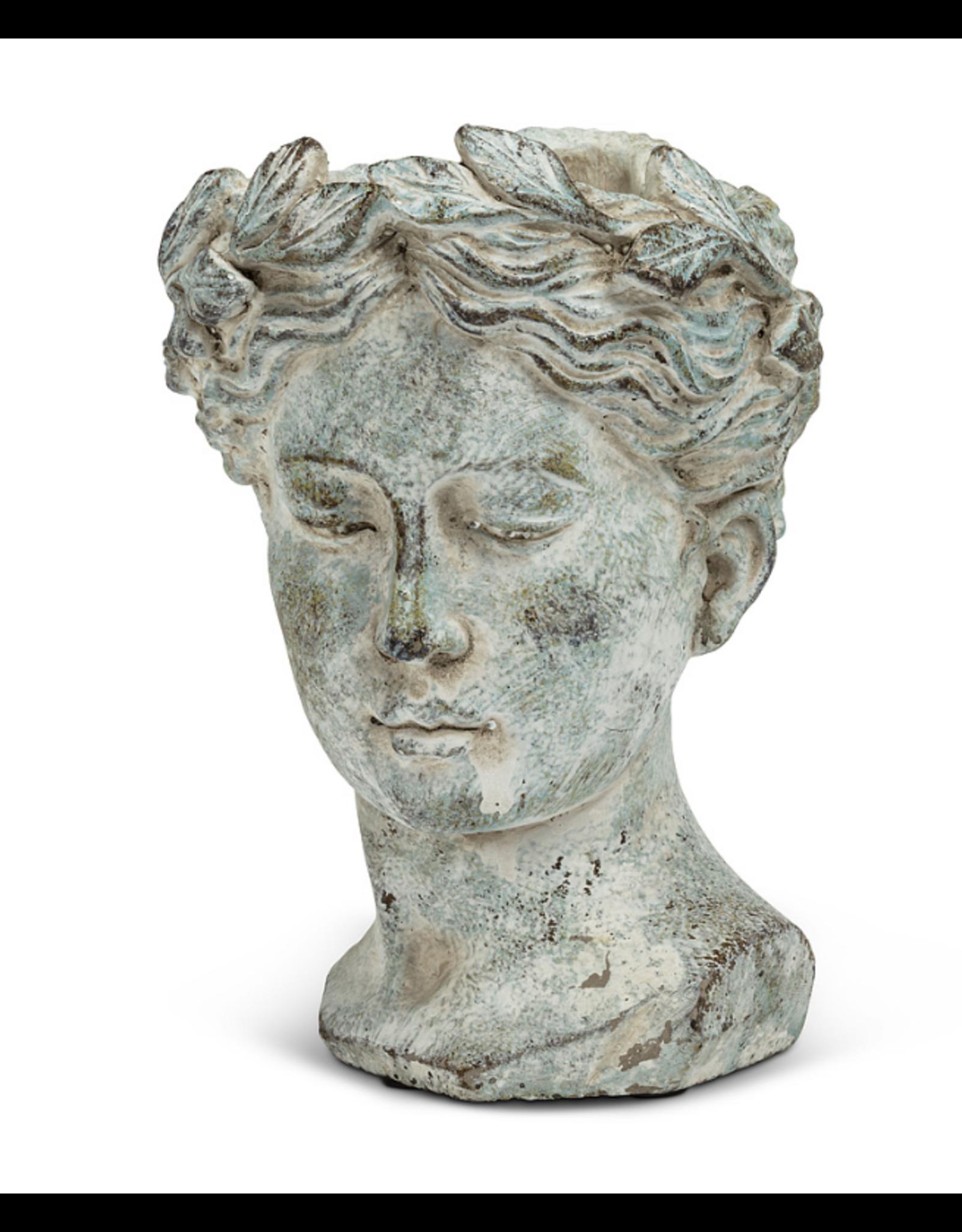 Goddess Head Planter Sm