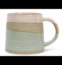 Pink/Blue Rustic Mug