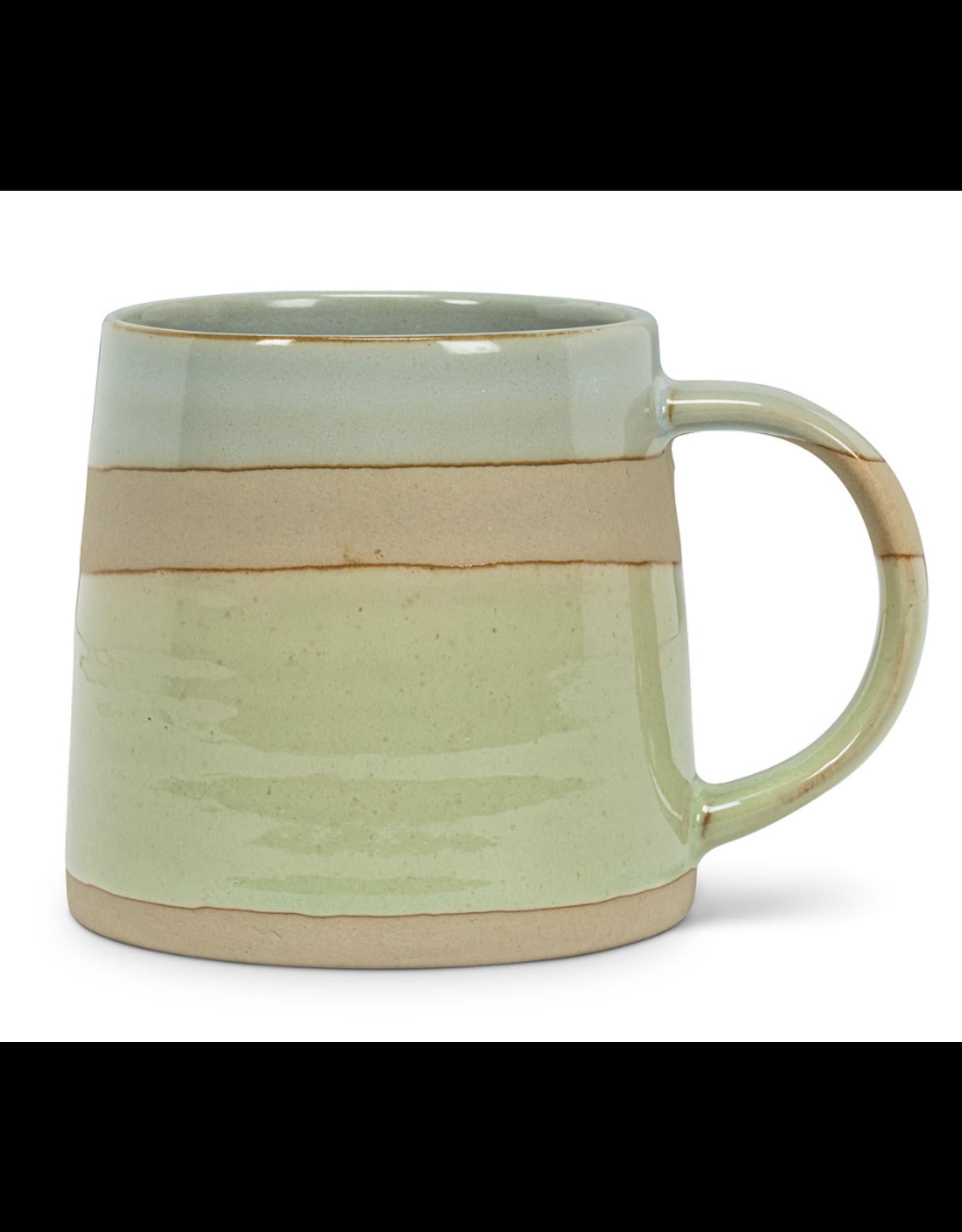 Blue/Green Rustic Mug
