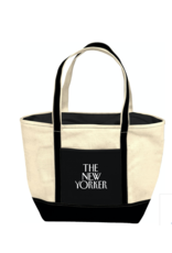 New Yorker Beachgoing Tote