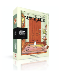 New Yorker Puzzle - Dog Behind the Door
