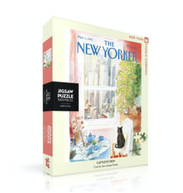 New Yorker Puzzle - Cat's Eye View