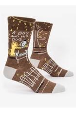 BQ Mens Sassy Socks - A Boy and His Dog