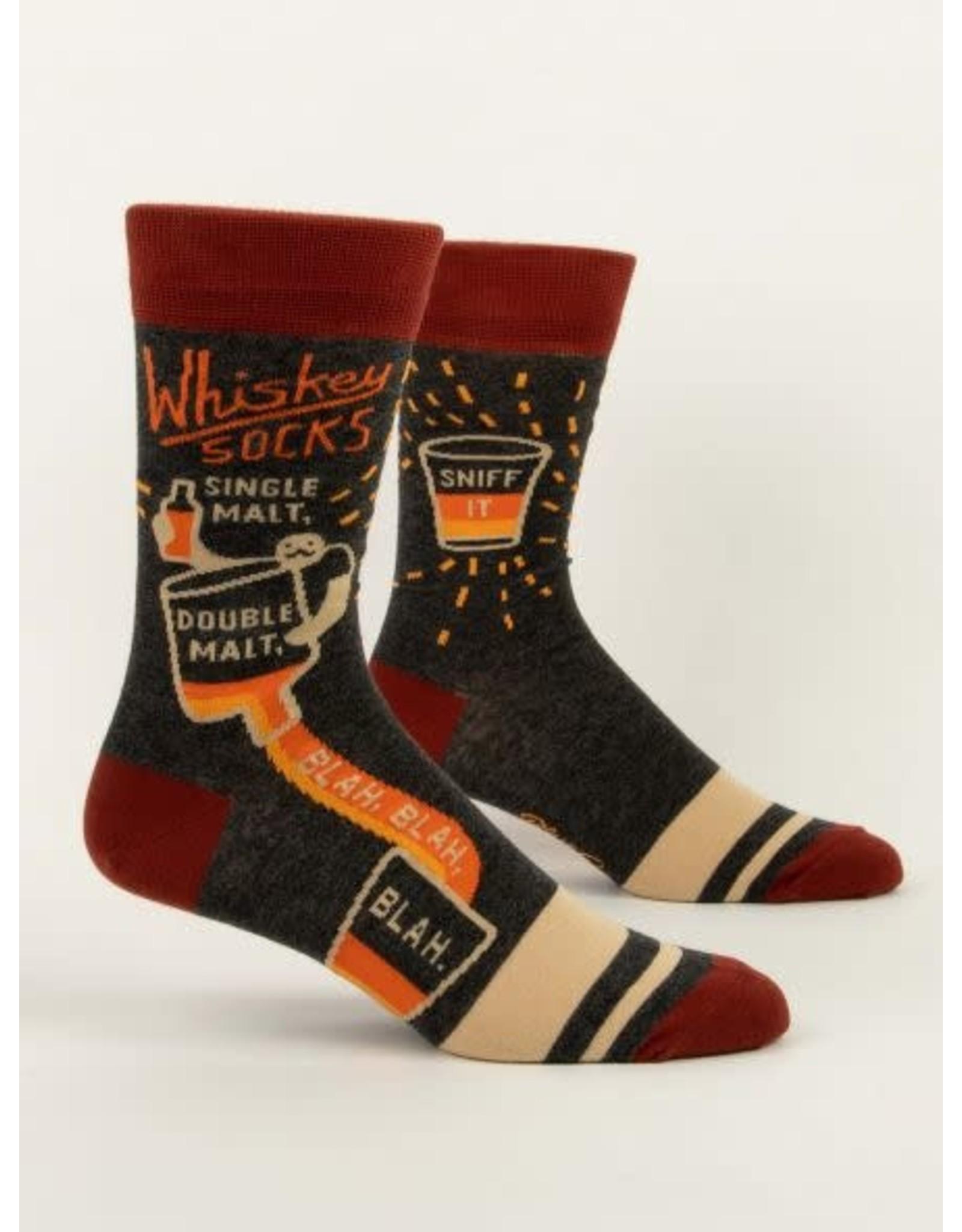 BQ Mens Sassy Socks - Whiskey
