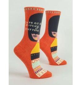BQ Sassy Socks - Bitchy Button