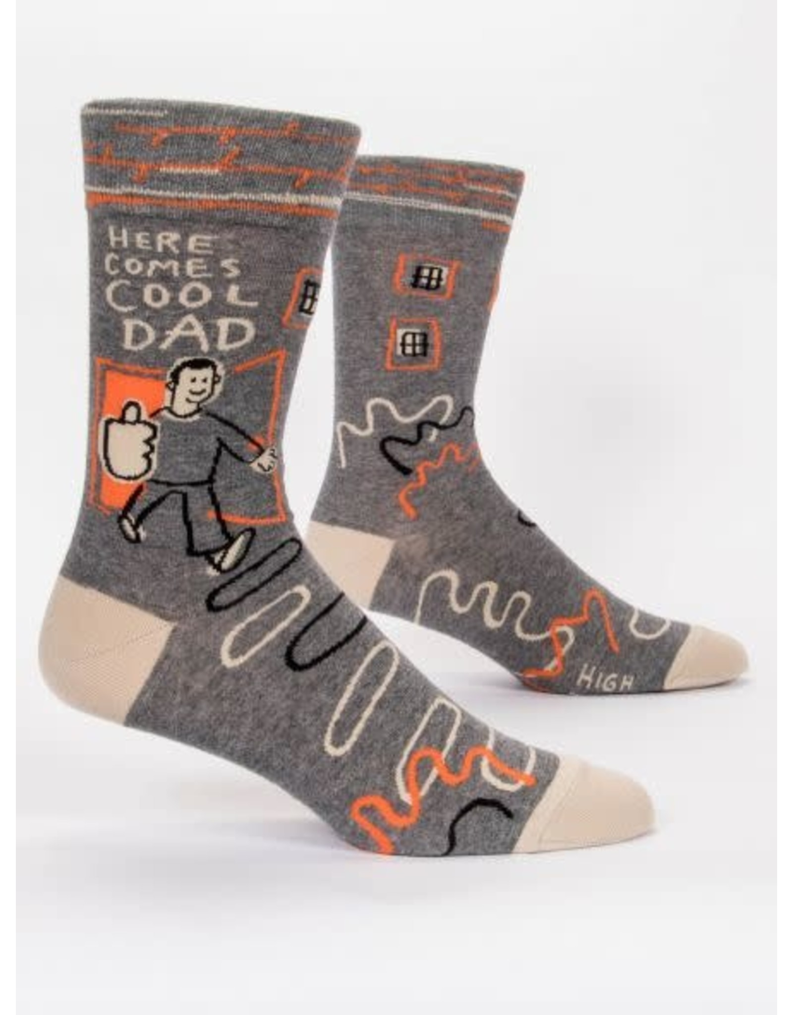 BQ Mens Sassy Socks - Cool Dad