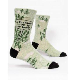 BQ Mens Sassy Socks - Love It Out Here