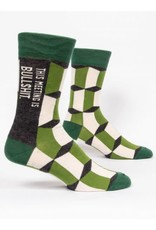 BQ Mens Sassy Socks - Meeting